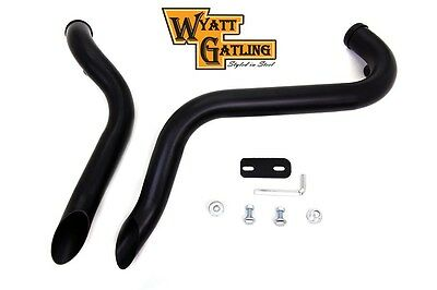 Wyatt Gatling Drag Pipe Set Down Type Fits XL 2004-UP 1-3/4