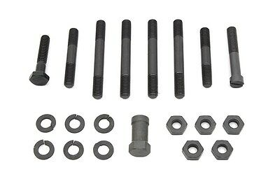 Oil pump mount kit with Parkerized finish. Fits EL 1936-1940, FL 1941-1967 USA!