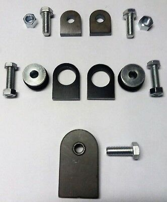 Rear Fender Mount Kit for Vintage Rigid FL Style Rear Fender to Softail Swingarm