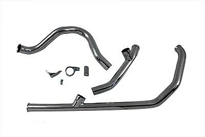 Dual Crossover Exhaust System Chrome FLT 1985-1994