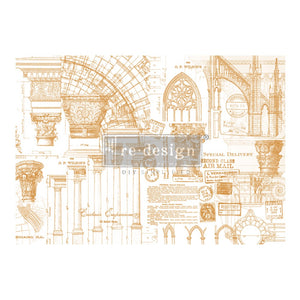 "Architecture - 47"" x 34""-transfer by Redesign with Prima"