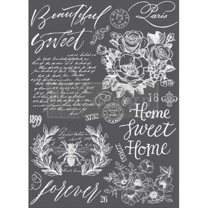 "Beautiful Home transfer by Redesign with Prima 24"" x 34"""
