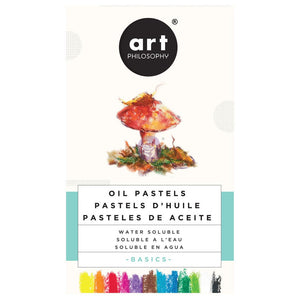Water-Soluble Oil Pastels BASICS