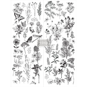 "Spring Meadow Life (22""x30"") Transfer-redesign with Prima"