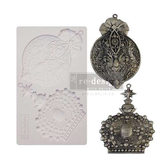 NEW! *Victorian Adornments* - Silicone Mould - Total Mould size 5