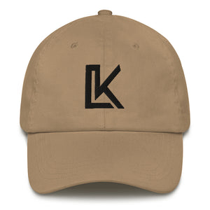 """LK"" Dad hat (Black Logo)"