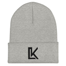 "Load image into Gallery viewer, ""LK"" Beanie (Black Logo)"
