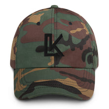 "Load image into Gallery viewer, ""LK"" Dad hat (Black Logo)"