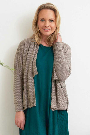 Arrows short boxy cardigan