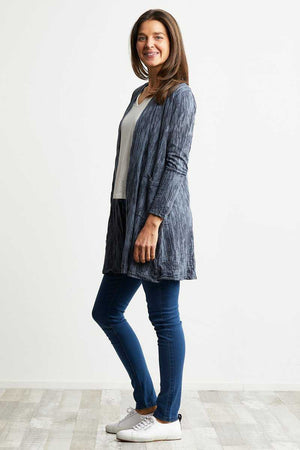Textured Pocket Cardi