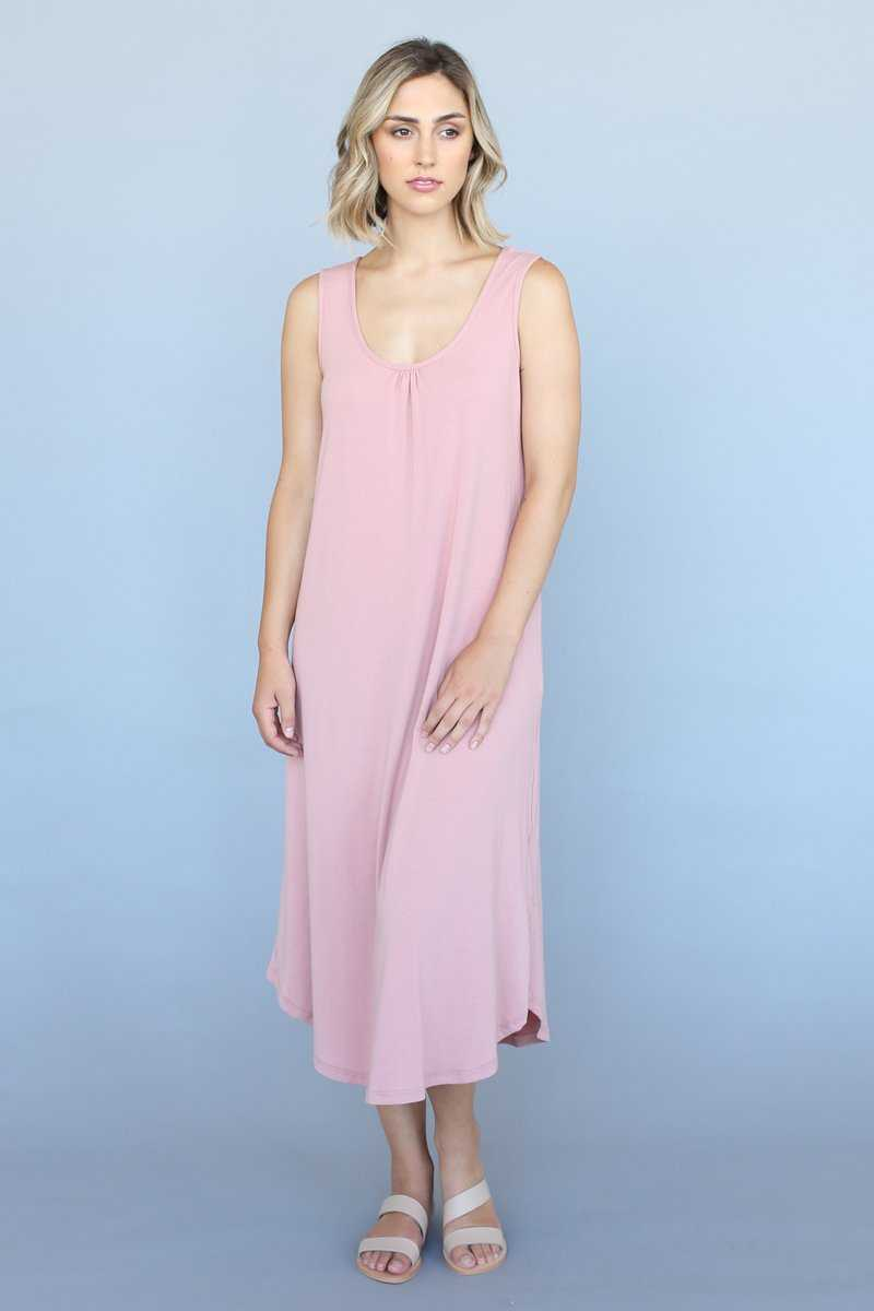 Bamboo Cotton Maxi Dress