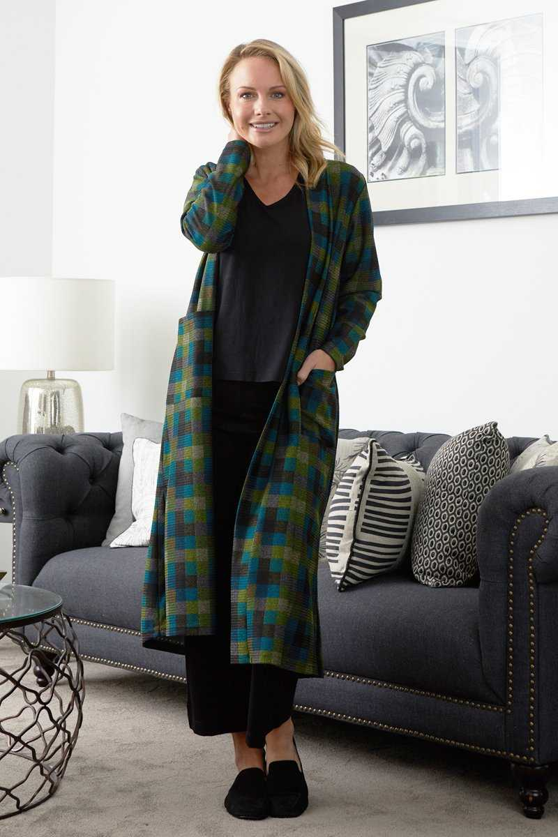 Textured Long Cardi