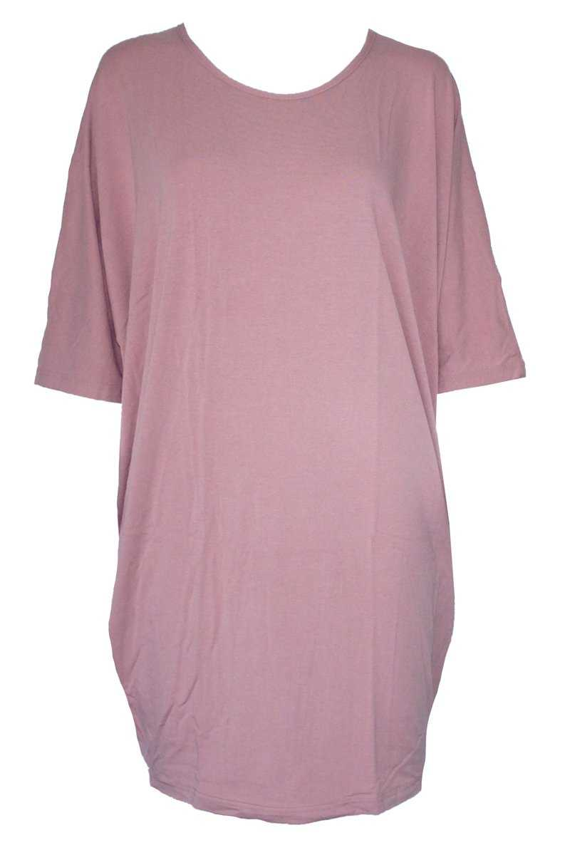 Bamboo Cotton Drapey Tunic