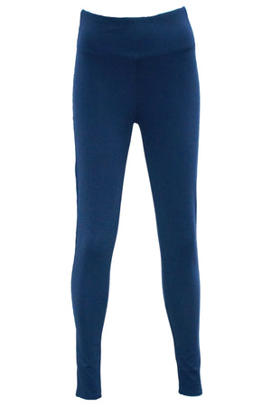 High waisted Ponte pant in Navy