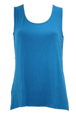 Viscose tank in Blue