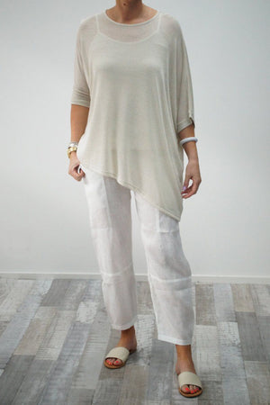 Knit Asymmetric Top