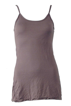 COTTON CAMI WITH BINDING