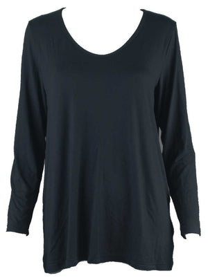 A-line long sleeve top