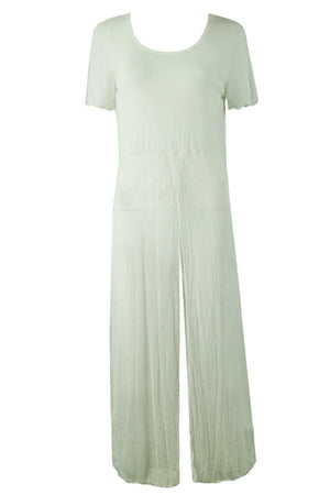 OPEN MESH/MESH SHORT SLEEVE MAXI