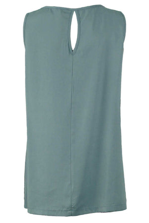 tank with keyhole in Tencel