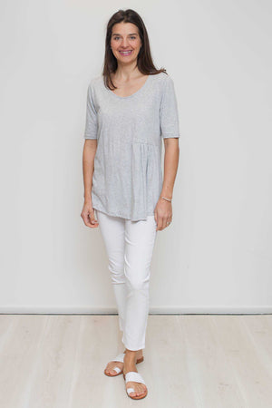 Organic Cotton Top with Gather