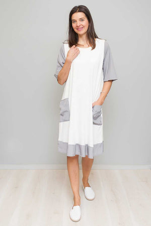 VISCOSE/ACETATE DRESS