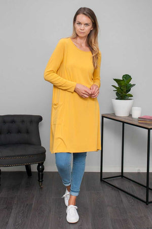 Long Sleeve Dress with Pockets