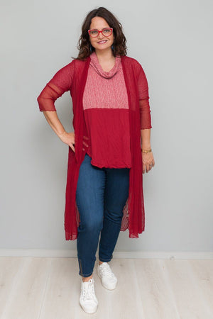 Spliced Skivvy Long Tunic