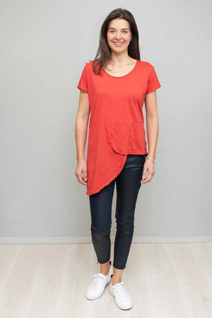 Asymmetric Cross Over Top