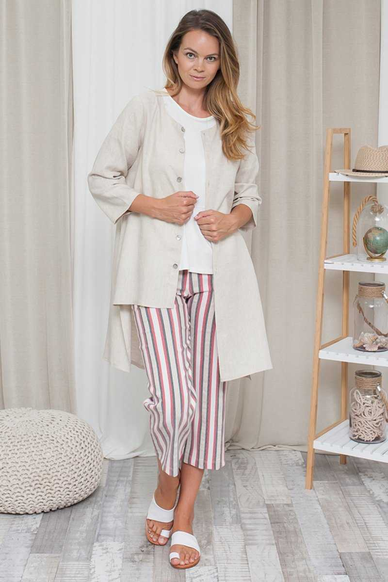 Linen Buttoned Up Cardi