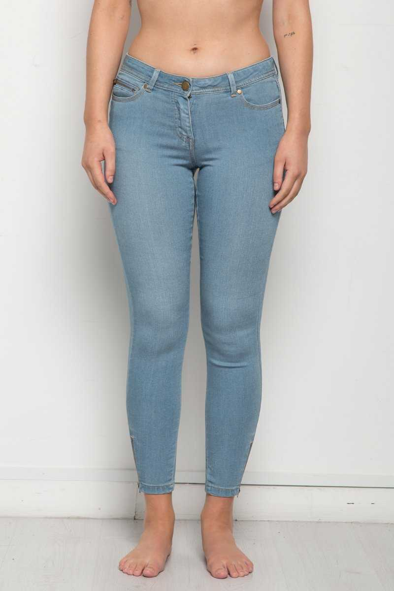 Everyday Skinny Leg Ankle Zip Jean
