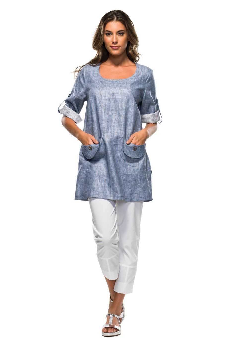 Tunic w/ circle pockets
