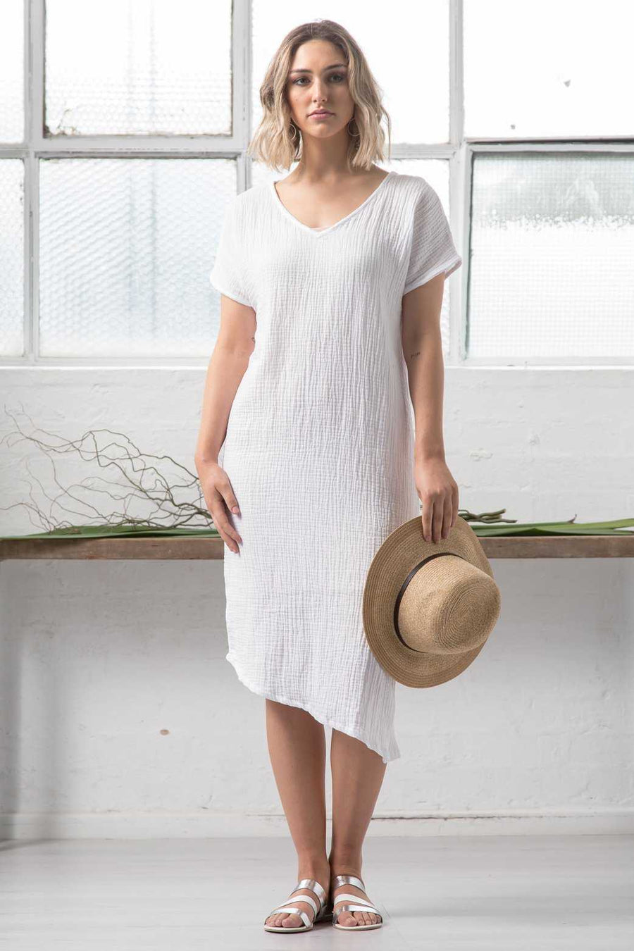 Double Cotton Dress