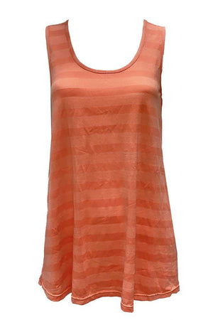 Wide Stripe Tank