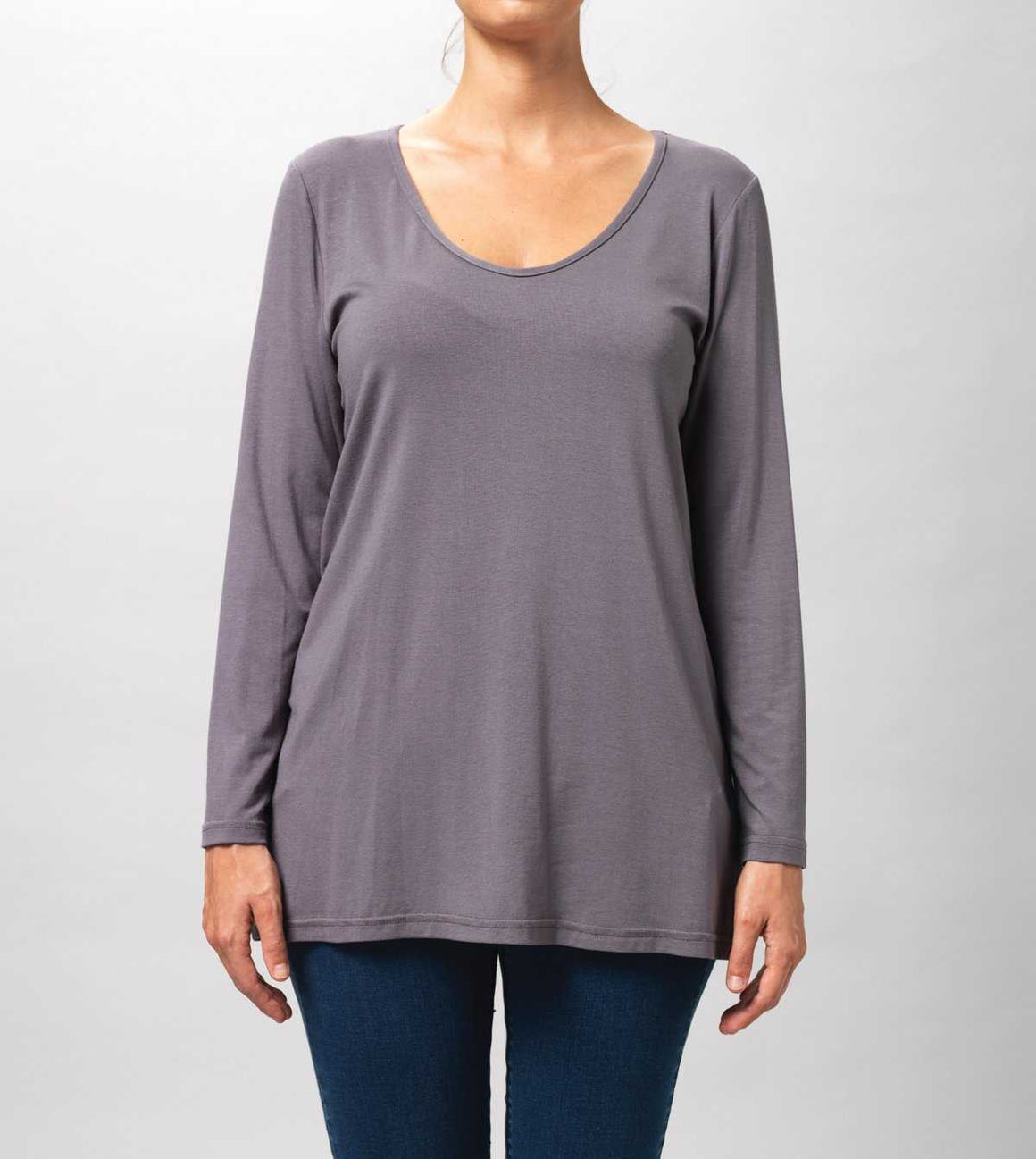A LINE LONG SLEEVE TOP