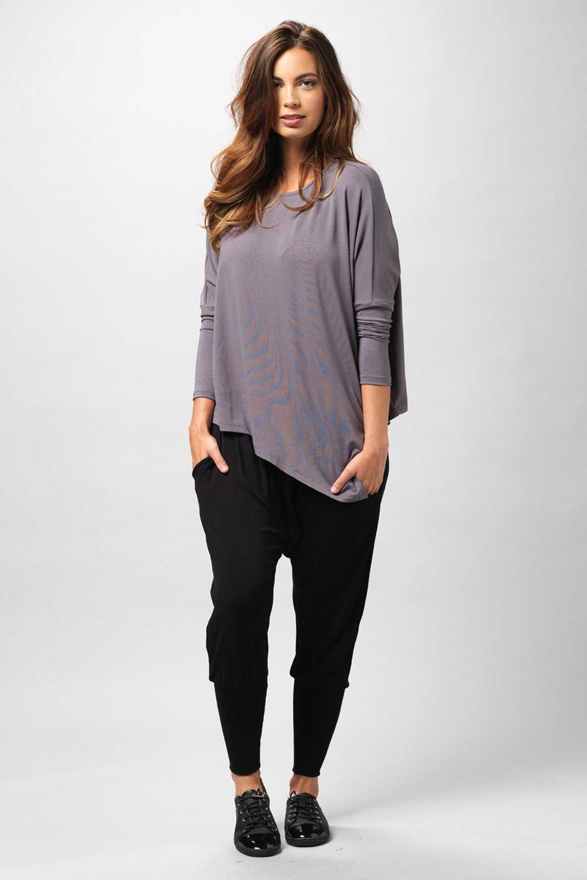 Asymmetrical Top in Viscose