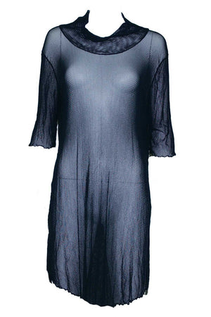 skivvy tunic in open mesh