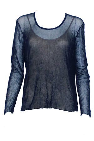 Basic Open Mesh top Long Sleeve