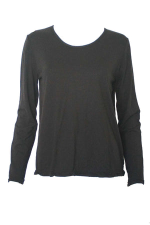 Basic Jumper Soy blend fabric Black