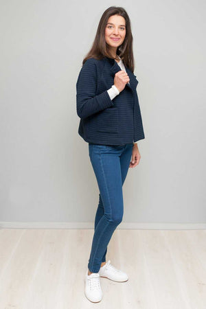 DOLMAN SLEEVE SHORT JACKET