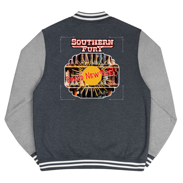 Southern Fury Brand New Boots Men's Letterman Jacket
