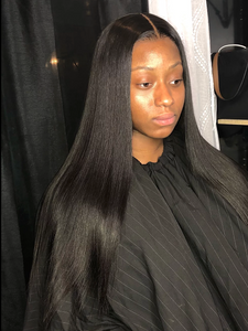 Luxury 13x4 Straight Front Lace Wig