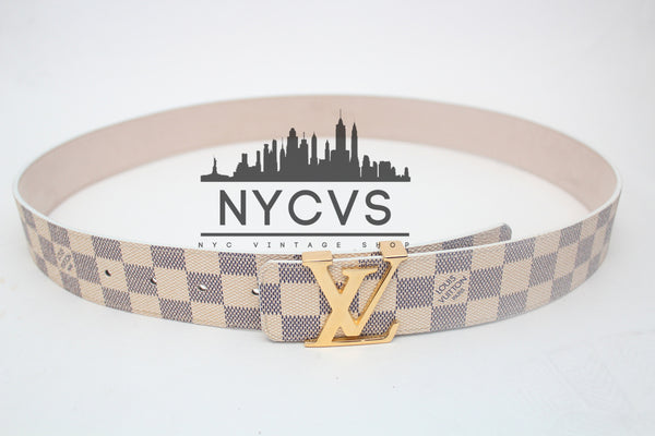 Louis Vuitton Damier Azur Belt