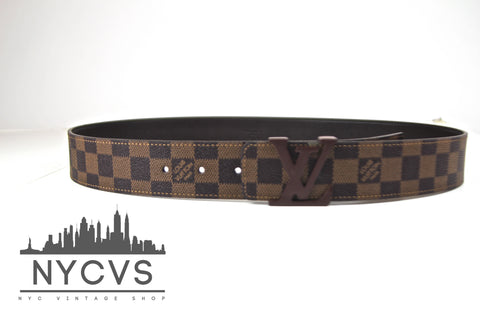 Louis Vuitton Damier Ebene Belt