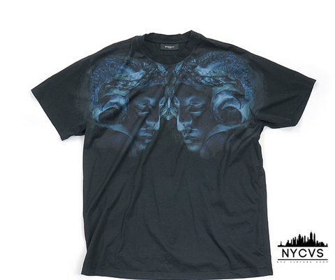 Givenchy Shaded Ram's Head Tee - NYC Vintage Shop