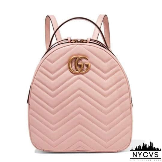 Gucci Marmont Quilted Leather Backpack - NYC Vintage Shop
