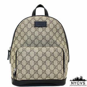 Gucci Monogram Supreme Backpack - NYC Vintage Shop