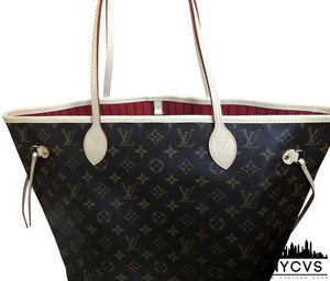 Louis Vuitton Neverfull Mm Monogram Multicolor Canvas Tote - NYC Vintage Shop
