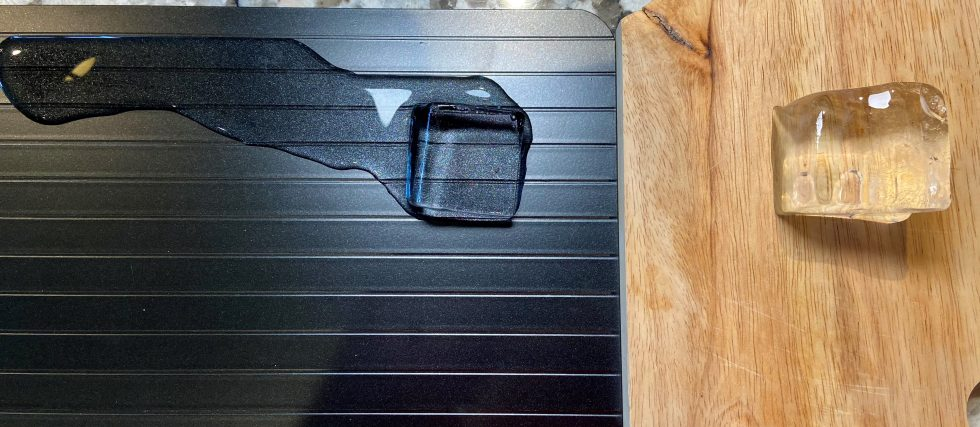 ThawTable premium defrosting tray review by tailgating challenge side by side ice test