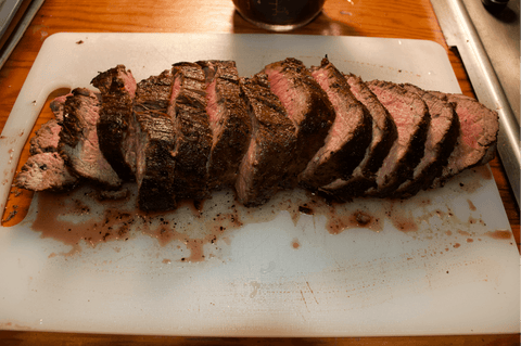 View the full how to cook a wagyu beef chateaubriand with red wine shallot sauce recipe